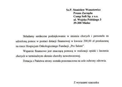 Fundacja Pro Salute 2008