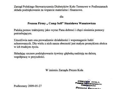 Polskie Stowarzyszenie Diabetyków 2009-05